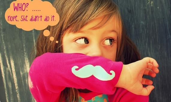 Moustache kid