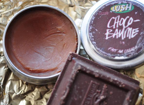 baume chocolat Lush