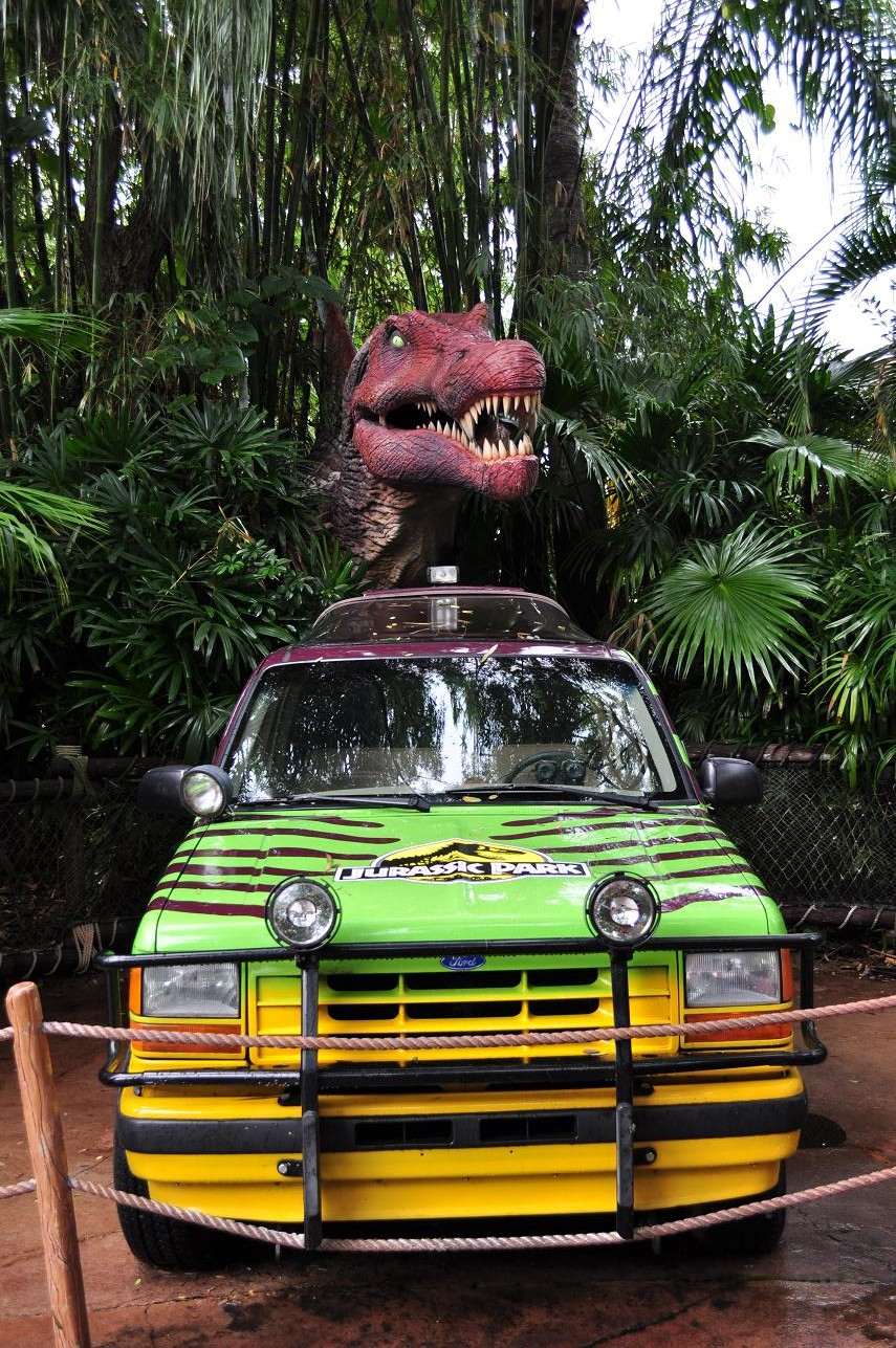 Isle of Adventure - Jurassic Park