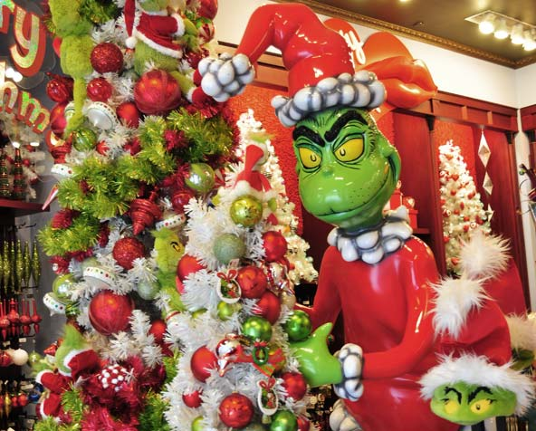 The Grinch Islands of Adventure