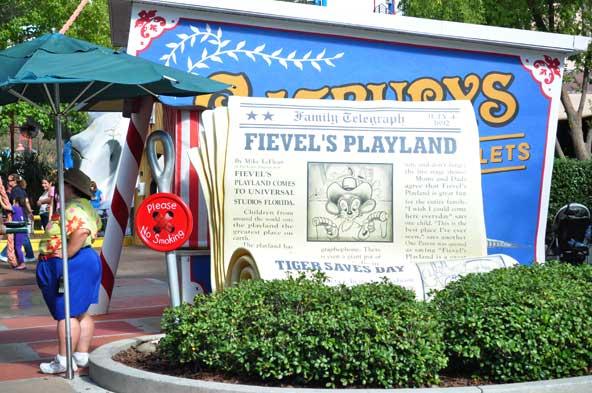 Universal Studios - Fievel