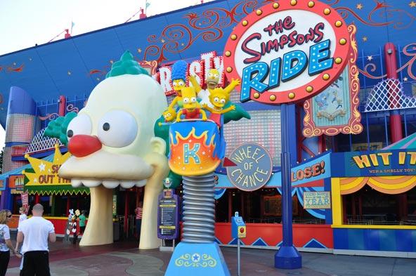 Universal Studios - Simpsons