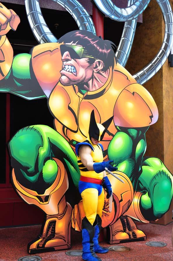 Wolverine Islands of Adventure