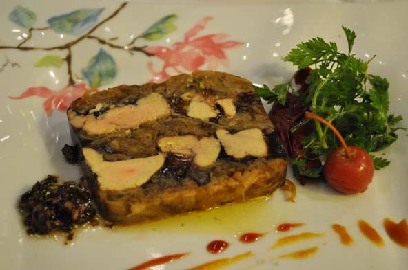 Marbré de foie gras Billoux