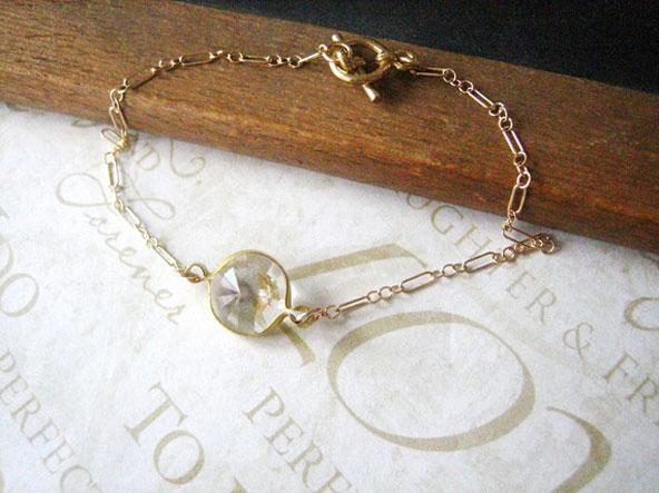 Bride Blu - bracelet crystal