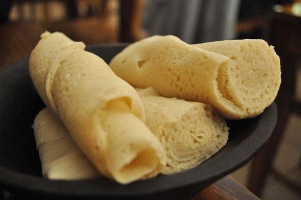 Injera - galette éthiopienne