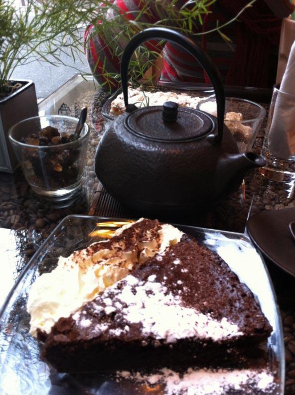 Fondant au chocolat - À chacun sa tasse Lyon