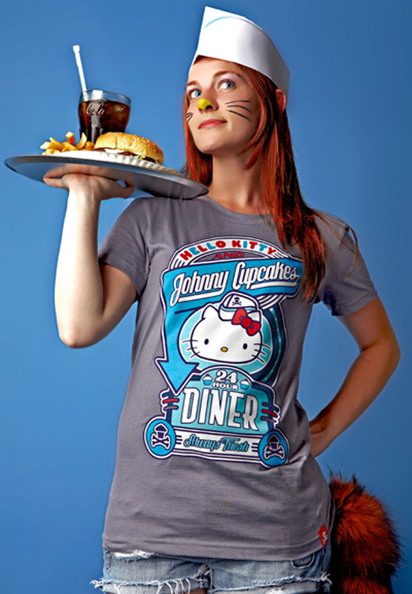 Johnny Cupcakes vs Hello Kitty