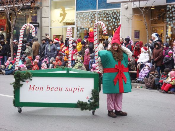 Défilé de Noël