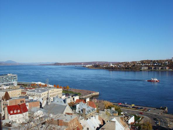 Saint-Laurent depuis Québec