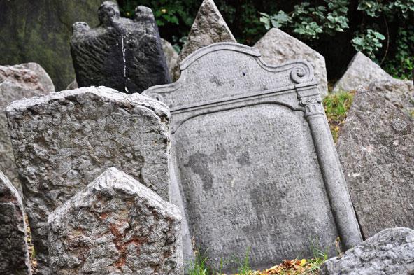 Cimetière de Josefov - Prague