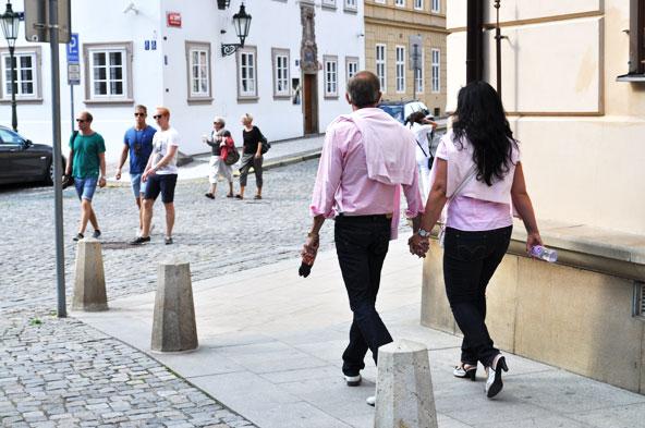 Les amoureux de Prague