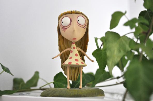 Staring Girl - Tim Burton