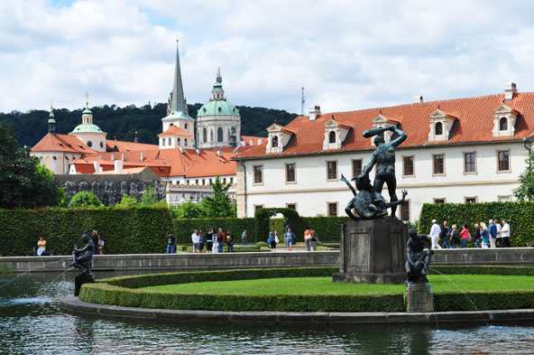 Jardin Wallenstein - Prague