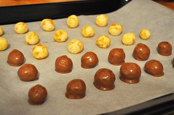 Bouchées noix de coco-abricot façon bounty