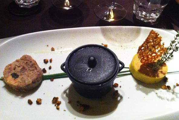 La Cantine des Sales Gosses - Trio de foie gras