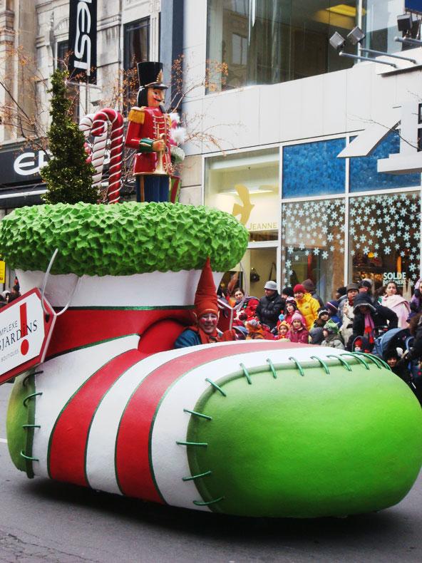 Défilé du Père Noël - Montréal 2008