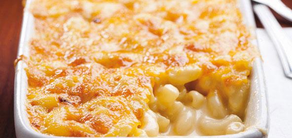 Macaronis gratinés au fromage - Ricardo