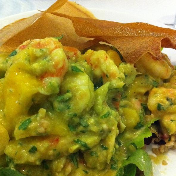 Chez Guillemette - Salade crevettes mangue avocat