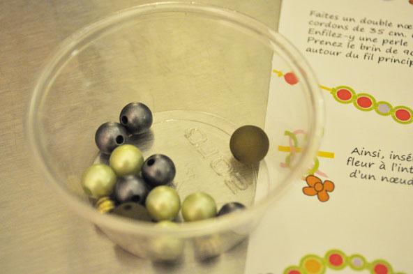 Perles - Bracelet Macramé