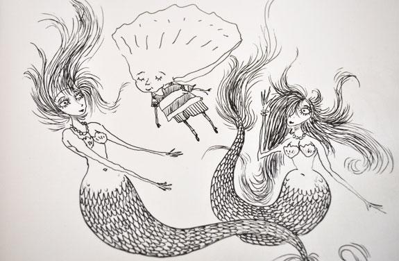 Sirènes - La triste fin du petit enfant huître