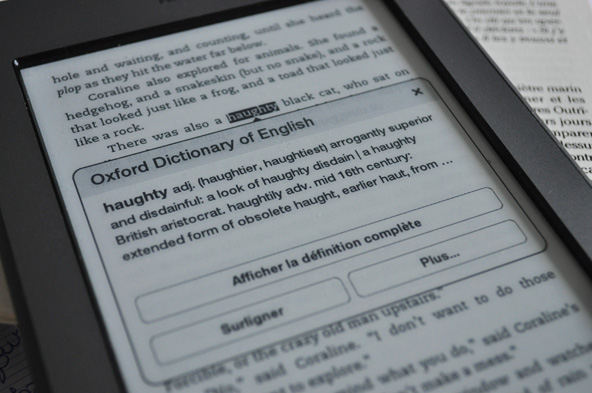 Kindle - Dictionnaire