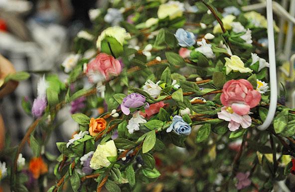 Marché de la Mode Vintage - Couronnes de fleurs