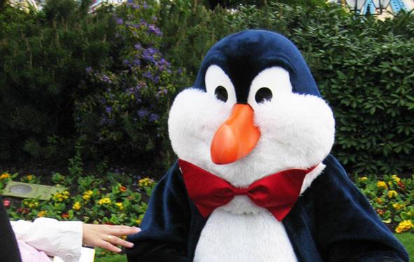 Pingouin Disneyland Paris