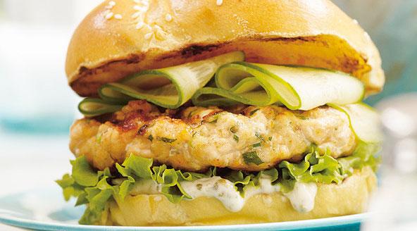 Burger au Saumon de Ricardo