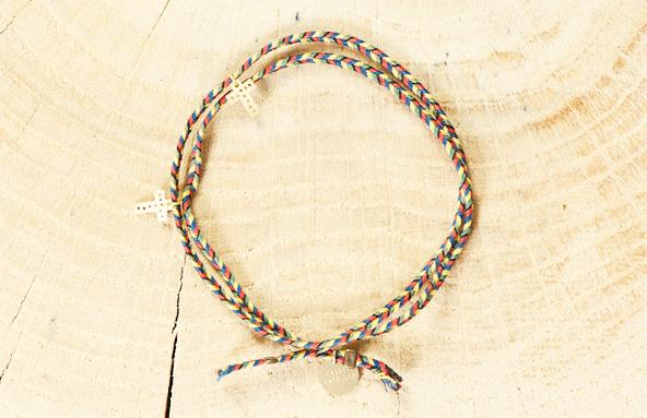 Tassia Canellis - Bracelet Gri-Gri Croix