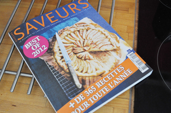 Best of Saveurs 2012