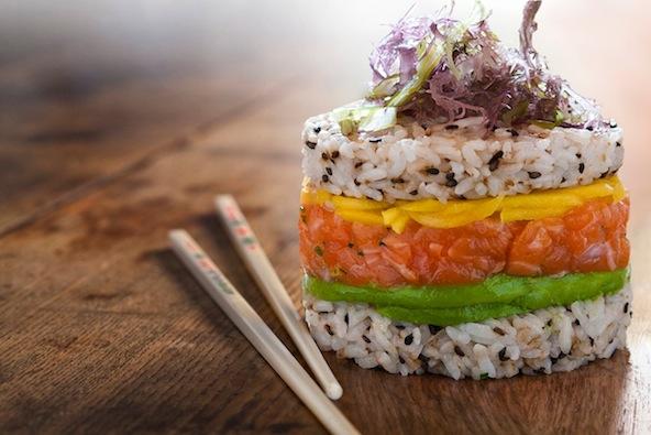 Sushi Burger - iBurger Montréal