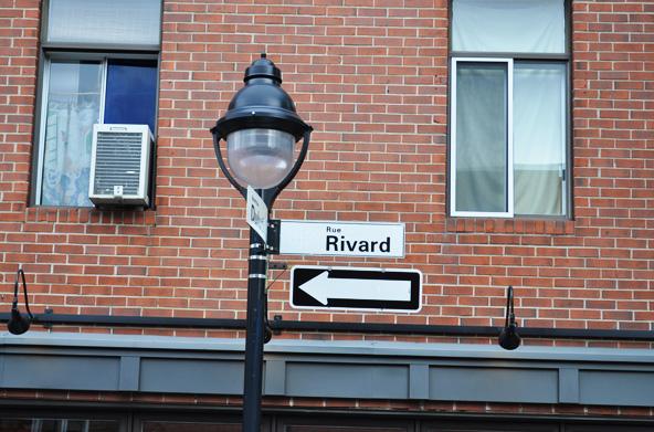 Rue Rivard - Montréal