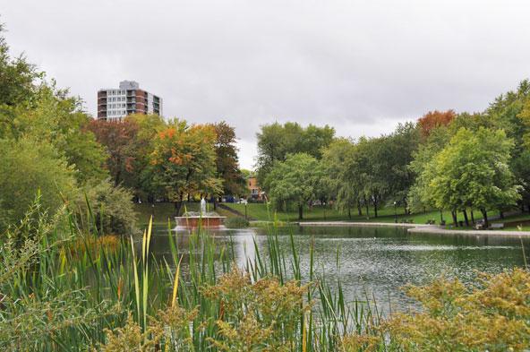 Parc Lafontaine - Montréal