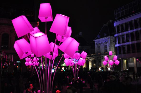 Fête des Lumières 2012 - Light In