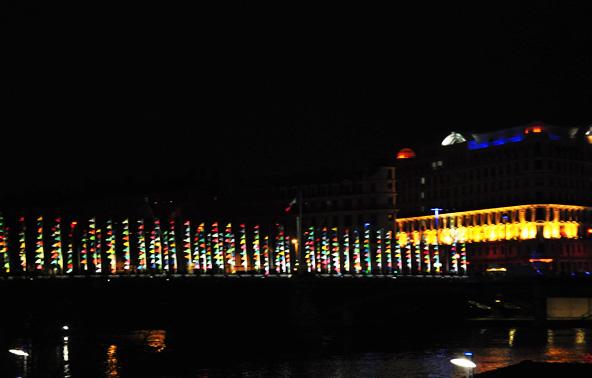 Fête des Lumières 2012 - Oriflammes