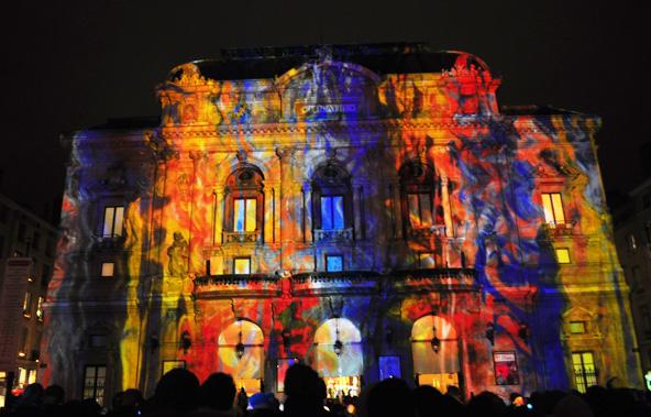 Fête des Lumières 2012 - Lumières Archipicturales