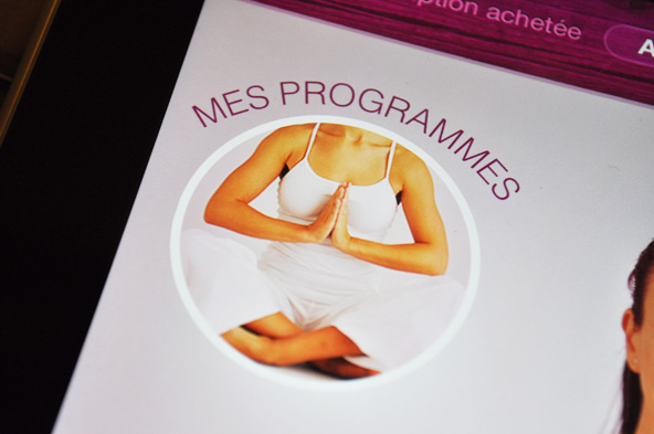 Yoga HD pour iPad