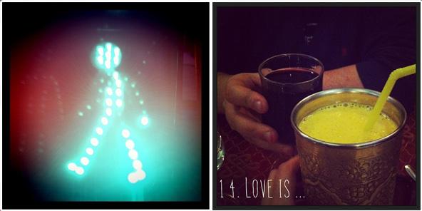 Walking / Love is...