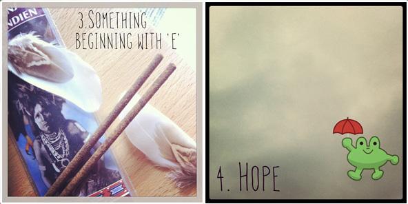 """Something beginning with """"E"""" / Hope"""