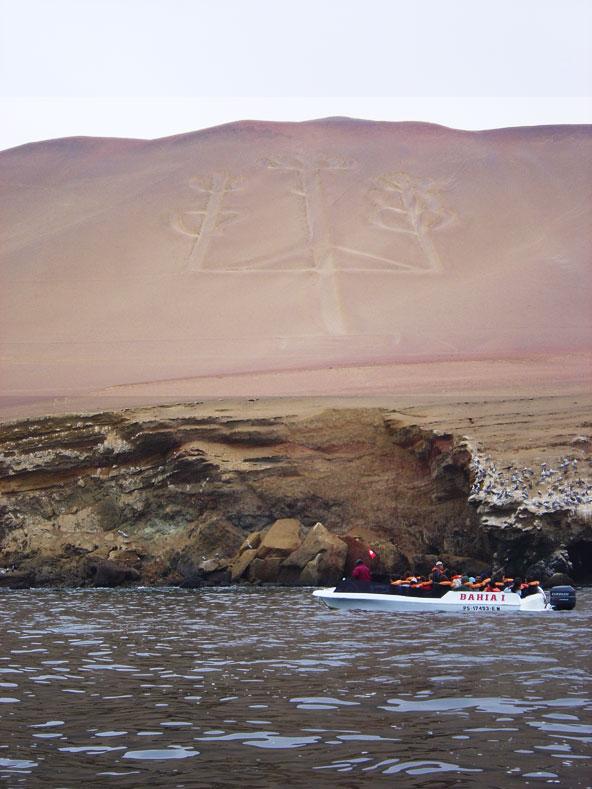 Chandelier de Paracas - Pérou