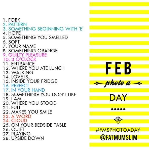 Feb photo a day par FatMumSlim