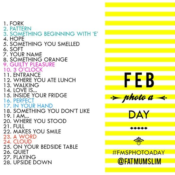 Feb photo a day par FatMumSlim