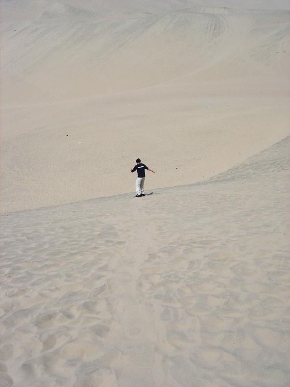 Sandboard à Huacachina - Préou