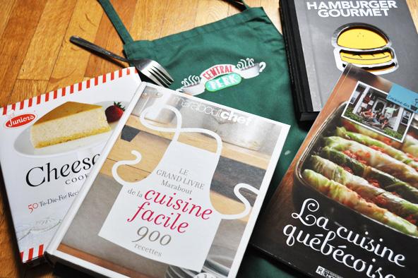 Livres de cuisine chouchous