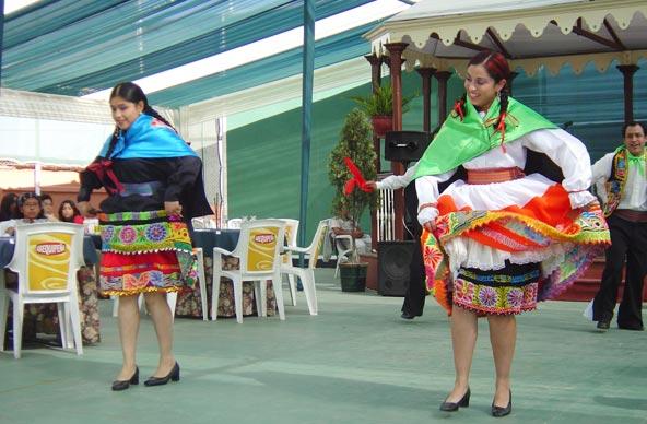 Danseuses péruviennes - Arequipa (Pérou)