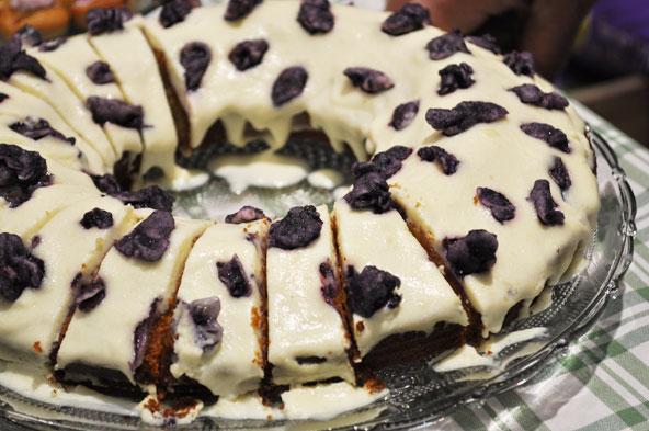 Gâteau à la violette - CLESA Lyon