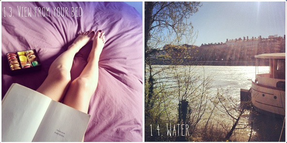 View from your bed / Water