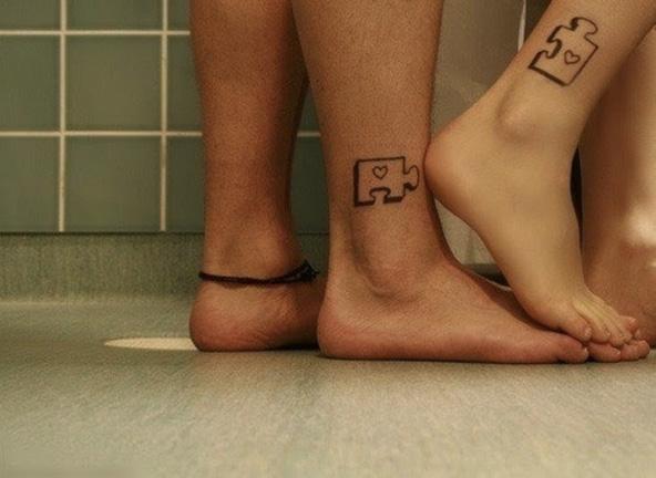 Puzzle tattoo