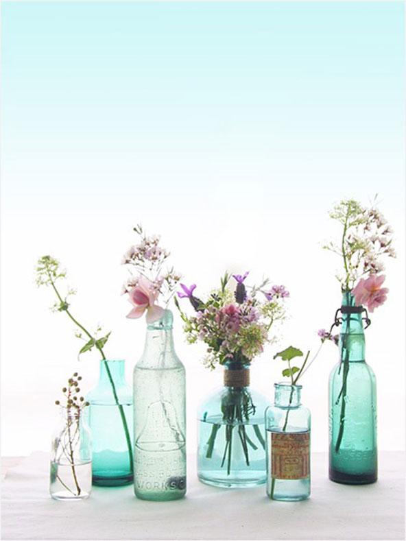 Vases improvisés